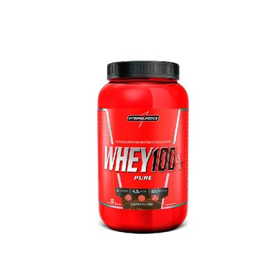 Whey 100% Pure 907g Integralmédica Whey 100% Pure 907g Cappuccino Integralmédica
