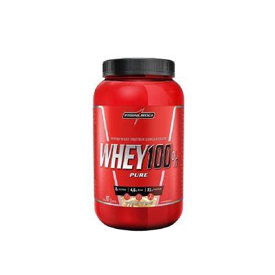 Whey 100% Pure 907g Integralmédica Whey 100% Pure 907g Cookies Integralmédica