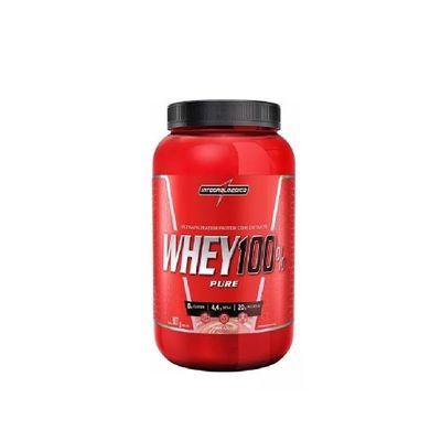 Whey 100% Pure 907g Integralmédica Whey 100% Pure 907g Morango Integralmédica
