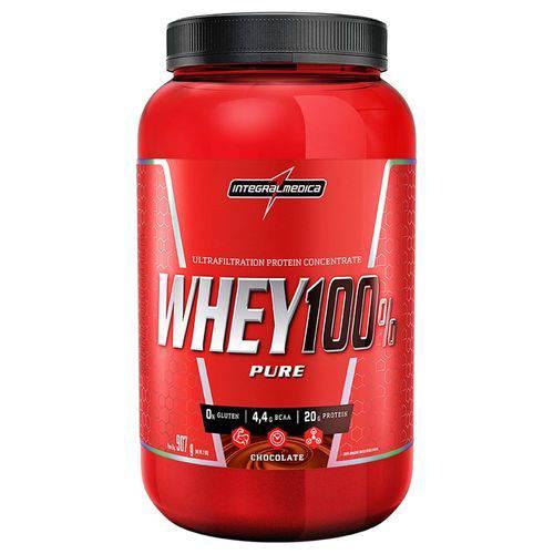 Whey 100% Pure (907g) - IntegralMédica