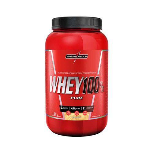 Whey 100% Pure Integralmedica 907g - Banana