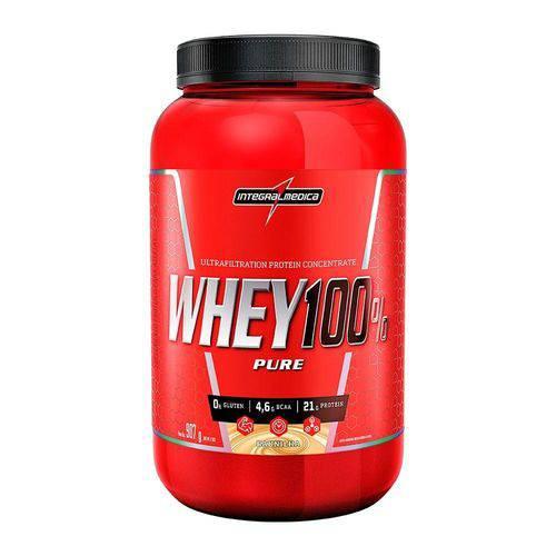 Whey 100% Pure Integralmedica 907g