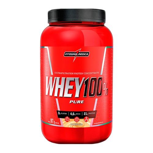 Whey 100% Pure Integralmédica Sabor Baunilha 907g