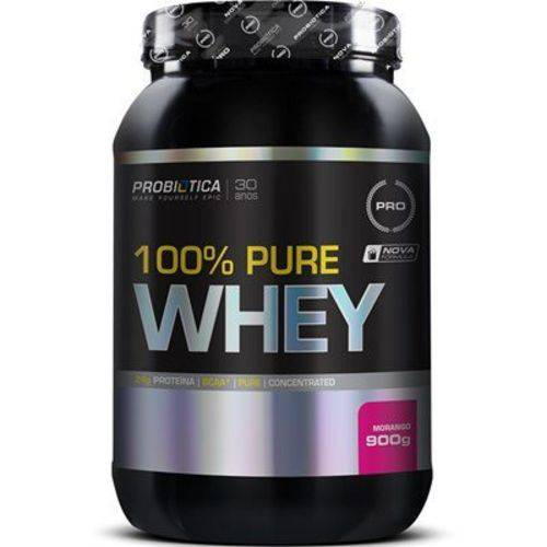 Whey 100% Puro 900g Probiotica