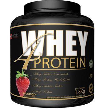 Whey 4 Protein 1,8kg - Procorps Sabor:Morango