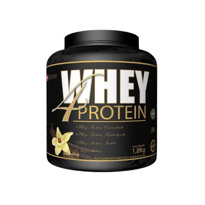 Whey 4 Protein 1,8kg Procorps Whey 4 Protein 1,8kg Baunilha Procorps