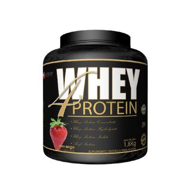 Whey 4 Protein 1,8kg Procorps Whey 4 Protein 1,8kg Morango Procorps