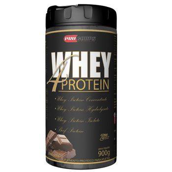 Whey 4 Protein 900g - Procorps Sabor:Chocolate