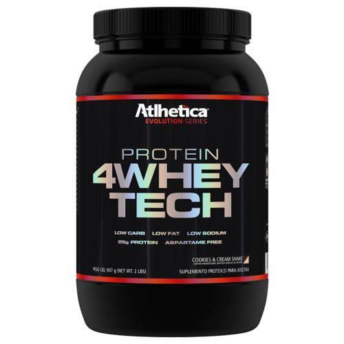 Whey 4w Atlhetica - 907g - Cookies Cream