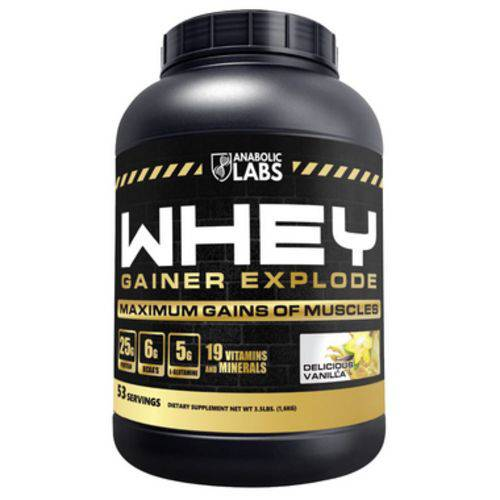 Whey Gainer Explode 1,6kg (53 Doses) - Anabolic Labs