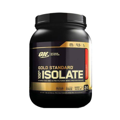 Whey Gold 100% Isolate 1,58lbs (720g) - Morango