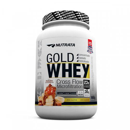 Whey Gold - 900g - Nutrata