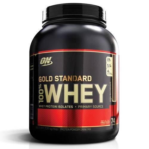 Whey Gold Standard 5lbs 2.27kg - Optimum Nutrition (sabor: Chocolate)