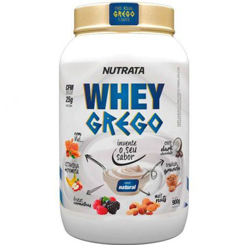 Whey Grego (900g) - Nutrata Natural
