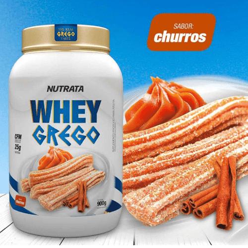 Whey Grego 900g Nutrata Whey Grego 900g Churros Nutrata