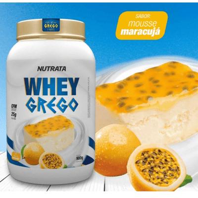 Whey Grego 900g Nutrata Whey Grego 900g Mousse de Maracujá Nutrata