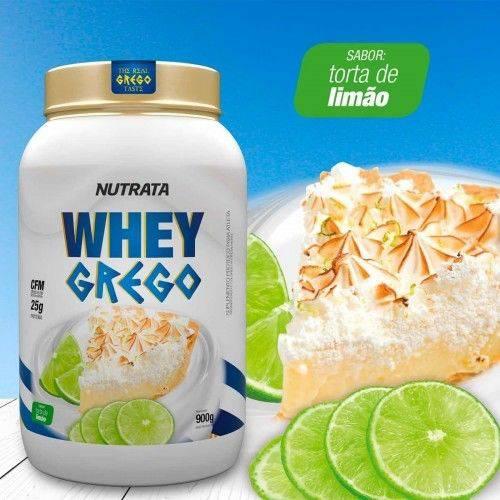 Whey Grego - 900g Torta de Limão - Nutrata