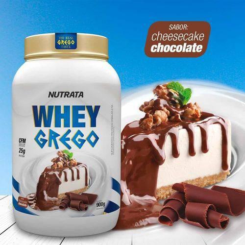 Whey Grego - Cheesecake de Chocolate - 900g - Nutrata