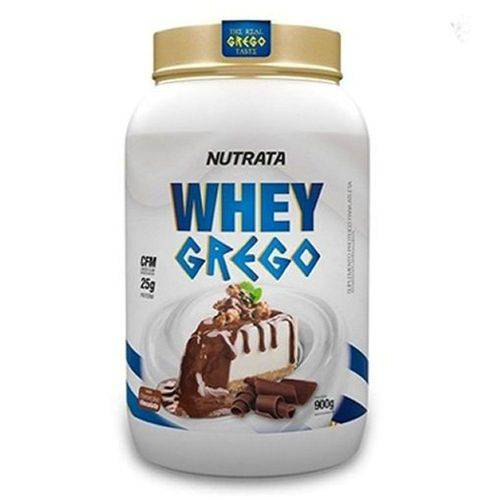 Whey Grego Cheesecake de Chocolate 900gr - Nutrata