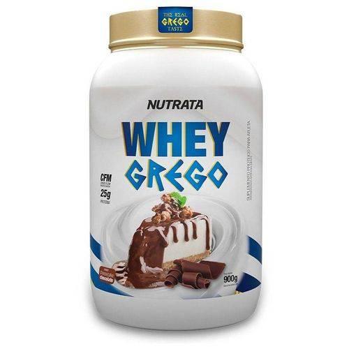 Whey Grego Nutrata 900g - Cheesecake Chocolate