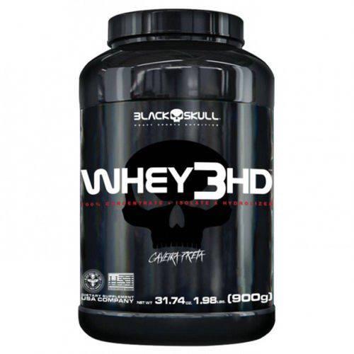 Whey 3hd - 900g - Chocolate - Black Skull