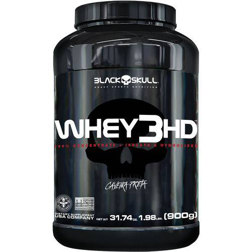Whey 3 Hd Chocolate 900g - Black Skull