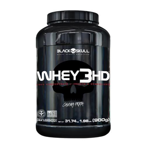 Whey 3HD Black Skull Chocolate com 900g