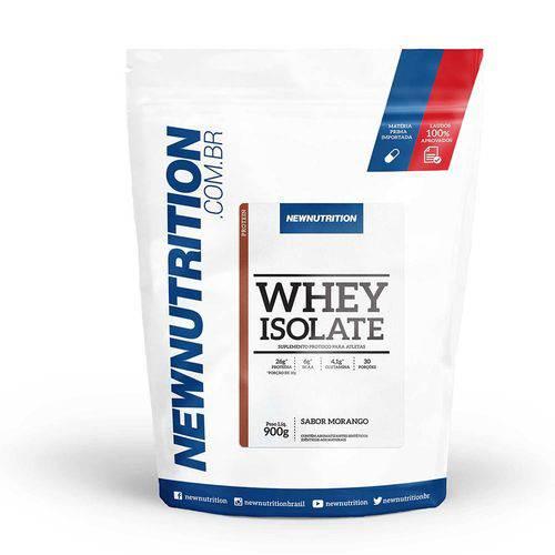 Whey Isolado Newnutrition 900g Morango