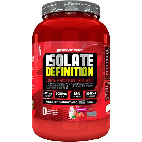 Whey Isolate Definition - 900gr - Body Action
