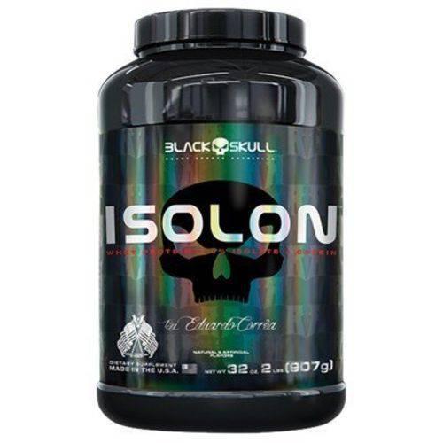 Whey Isolon 907g Black Skull