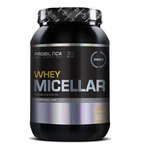 Whey Micellar - 900g Sabor Baunilha - Probiótica