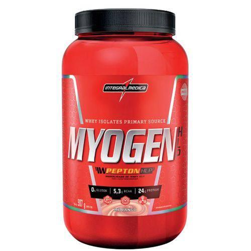 Whey Myogen Hlp 907g Morango - Integralmédica