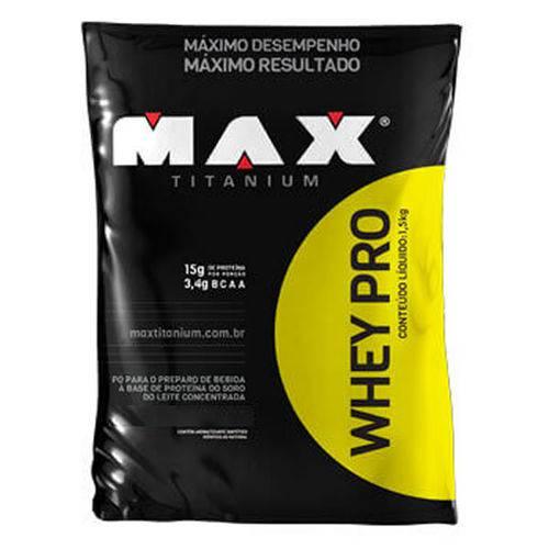 Whey Pro 1,5 Kg - Max Titanium - Max Titanium