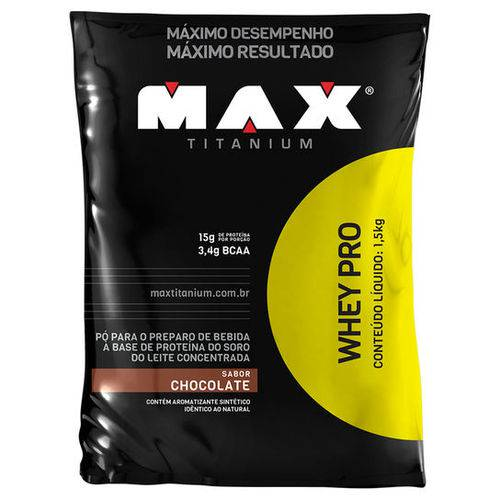 Whey Pro - 1.5 Kg - Max Titanium