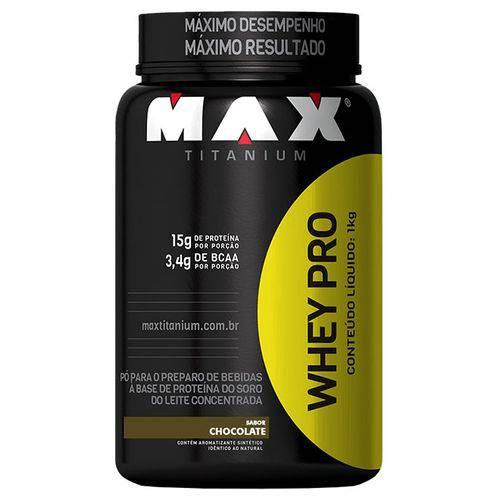 Whey Pro 1000g - Max Titanium