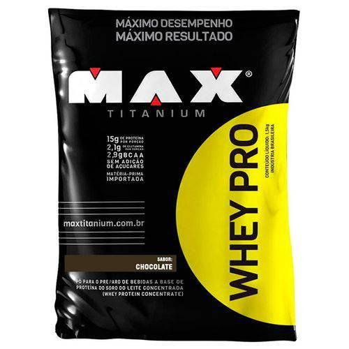 Whey Pro 1500g - Max Titanium
