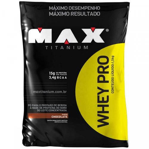Whey Pro - 1500kg - Refil - Max Titanium