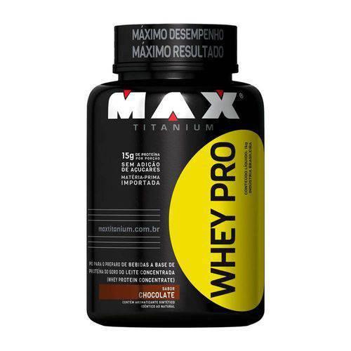 Whey Pro 1kg - Max Titanium - Vitamina de Frutas