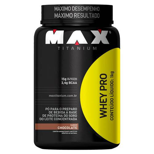 Whey Pro (1kg) Max Titanium