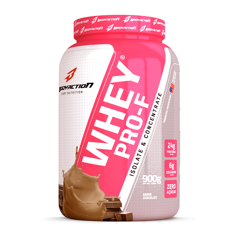 Whey Pro-F (900g) Body Action-Chocolate