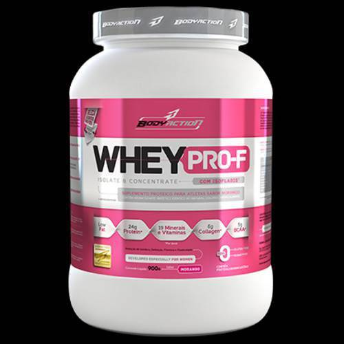 Whey Pro-F 900gr - Body Action-Pêssego