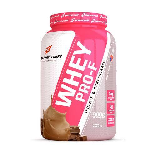 Whey Pro-F Isoflaris 900g Chocolate Bodyaction