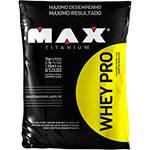 Whey PRO Refil Chocolate 1,5Kg - Max Titanium