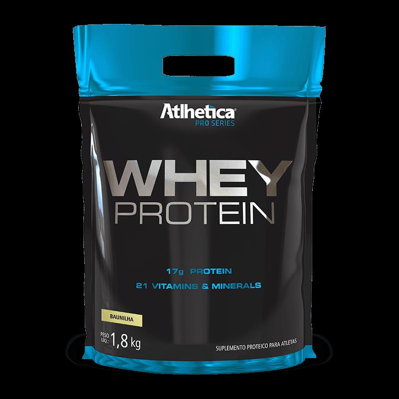 Whey Protein (1 8kg-Refil) Atlhetica Nutrition
