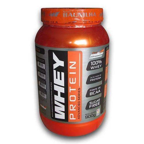 Whey Protein 100% Morango 900g - New Millen