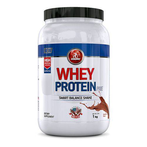Whey Protein 1kg Usa - Chocolate - Midway