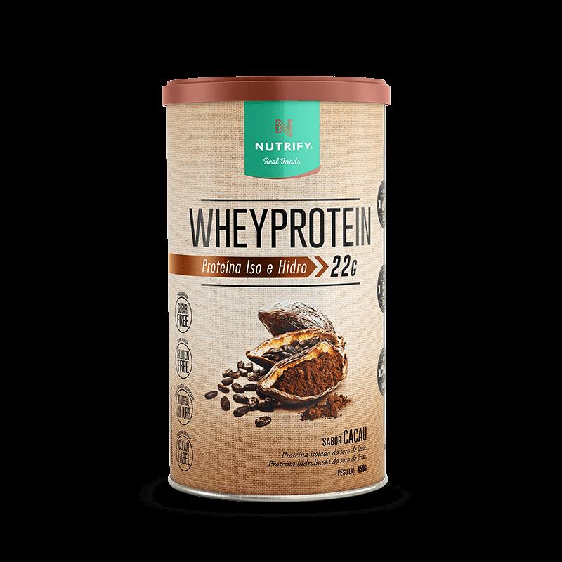 Whey Protein (450g) Nutrify-Chocolate