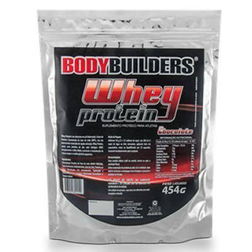 Whey Protein 35% - Refil 454g Morango - Bodybuilders