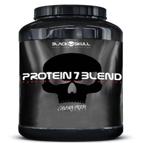 Whey Protein 7 Blend Caveira Preta 1,8 Kg - Black Skull