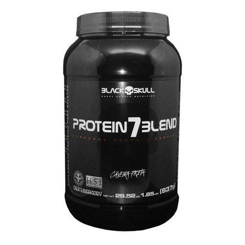 Whey Protein 7 Blend Caveira Preta 837G - Black Skull
